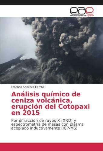 Análisis químico de ceniza volcánica, erupción del Cotopaxi en 2015: Por difracción de rayos X (XRD) y espectrometría de masas con plasma acoplado inductivamente (ICP-MS)