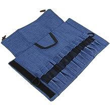 IPOTCH 1 Unid Mochilla Organizador de Cubiertos Cuchara Portacubiertos Multiusos Duro - Azul