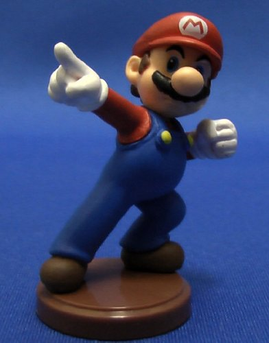 Furuta SUPER MARIO MINI FIGUREN MARIO (4 CM Mini Figure)