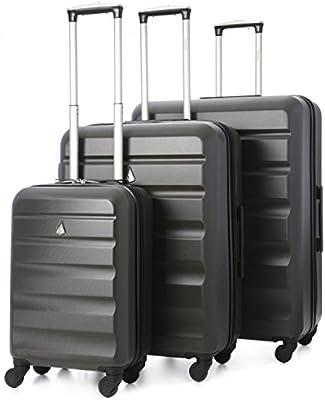 Aerolite-Carcasa rígida de ABS equipaje maleta de viaje con ruedas