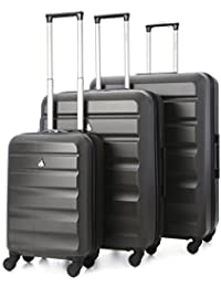 Aerolite – Carcasa rígida de ABS equipaje maleta de viaje con ruedas