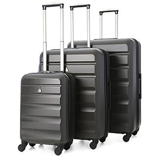 Aerolite–Carcasa rígida de ABS equipaje maleta de viaje con ruedas