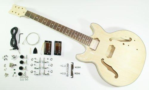 Cherrystone 4260180887174 kompletter Bausatz für Jazz/Blues E-Gitarre