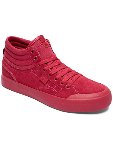 DC Shoes Evan Hi Se, Sneakers Basses Femme Rouge - Raspberry