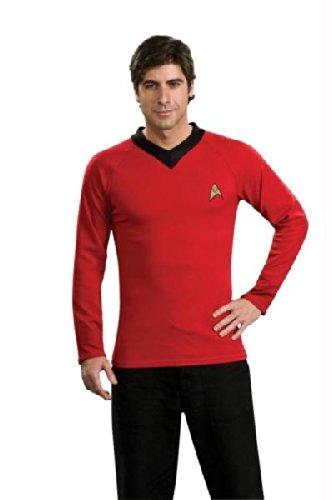 Star Trek Classic Red Shirt Xl (Star Trek Classic Red Kostüme)