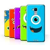 Coque de Stuff4 / Coque pour Huawei Honor 5c / Pack 5pcs / Monstres