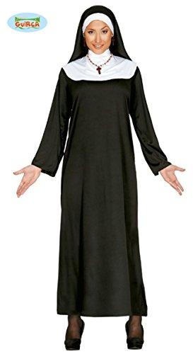 Nonne Kostüm für Damen Gr. M/L, Größe:L