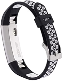 samLIKE Bracelet Band pour Fitbit Alta//Alta HR Bracelet en m/étal avec bijoux bracelet de montre de rechange Fit Poignet Taille 5,5 6,5
