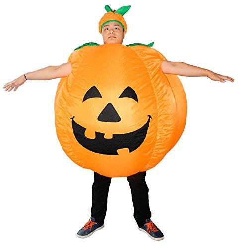 Lydia's Anime Cosplay Kleidung Halloween-Kürbis-Kostüm-Stadiums-Leistungs-Kürbis-aufblasbare Anzugs-Karikatur-Puppen-aufblasbare Kleidung 150~195cm (Puppe Kostüm Für Ihren Tanz)