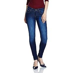 Newport Women's Skinny Jeans (270316574_DK-BLUE_30_IN-28)