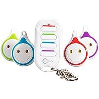Buscador de Llaves, Esky 4 en 1 Key Finder ES-KF03 Control remoto Localizador de artículos inalámbricos Key Finder para Key / Pet / Wallet / Cell Phone