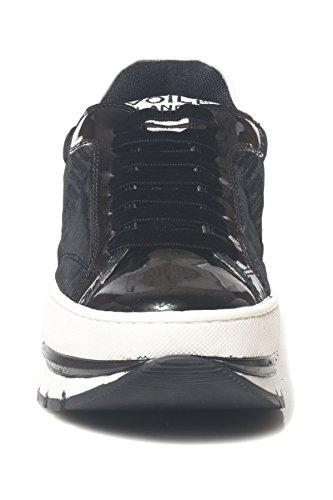 Voile Blanche Sneakers con Lacci da Donna Nero
