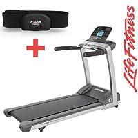 Preisvergleich für Life Fitness T3 Track Laufband inkl. H7 Polar Brustgurt und Bodenmatte