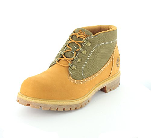 Timberland Mens 6-Inch Campsite Leather Boots Wheat