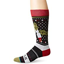 Stance Missle Toe 2 Socks - Black Medium