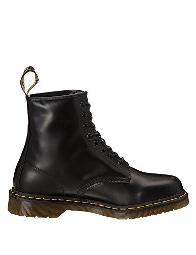 Dr. Martens Unisex-Erwachsene 1460 10072004 Combat Boots, Schwarz Smooth 59 Last Black, 45 EU