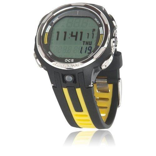 Oceanic OCS Dive Computer Wrist Watch, Yellow