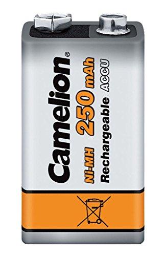Camelion - 1 Accu Rechargeable Bloc NiMh 9V 250 mAh
