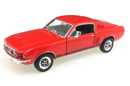 ford-mustang-gt-rot-1967-modellauto-fertigmodell-welly-124