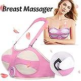 Breast Elektronische Brust Massagegerät Weit Infrarot-Heiz Vibrations Stimulator Brust Verbessern BH Für Frauen,C/Dcup