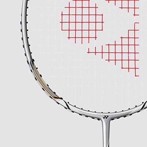 Yonex  Badmintonschläger Nanoray 10F 4U/G4, silber, One Size, BNR10f16