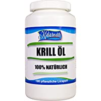 Kala Health - Rimfrost® Krill Öl 180 vegetarische Licaps® Kapseln - Omega 3,7,9