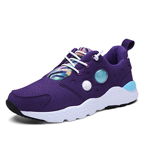 Men's Lace Up Athletic Training Shoes purple