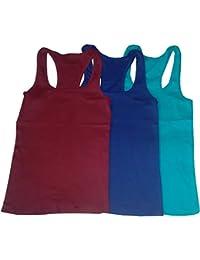 Vansh fashion Womens tank tops (combo of 3)