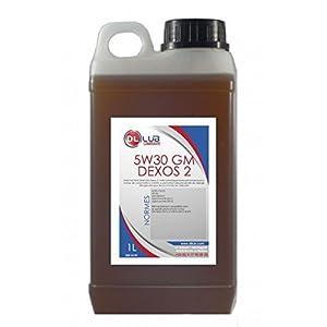 DLLUB – HUILE MOTEUR 5W30 GM Dexos 2 – 25 litres pas cher