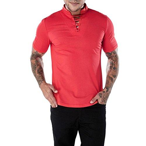 Levi's Perfect Vneck tee, Camiseta para Mujer, Rojo (Red Dahlia 27), Small