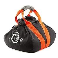 PKB PORTABLE KETTLEBELLS: The Original Sandbag Kettlebell - Crossfit, Travel, Yoga, Home Workout Sandbag Training Equipment Fully Adjustable Kettlebell Weights Red