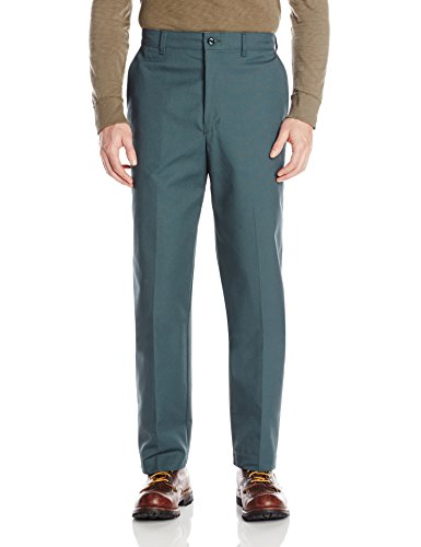 44W x 32L , Spruce Green : Red Kap Mens' Stain Resistant, Flat Front work Pants
