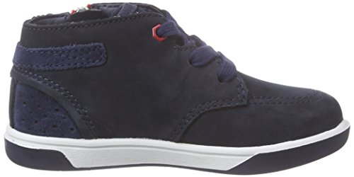 Timberland Unisex-Kinder Groveton_groveton Chukka with Big High-Top Blau (Black Iris Nubuck)