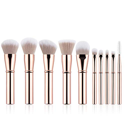 FGJPO Makeup Bürsten Make-Up-Pinsel Set Reisegröße Make-Up-Pinsel Mit...