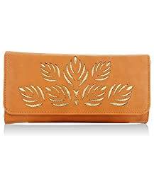 Fantosy Fnwc-143 Tan Womens Synthetic Wallet