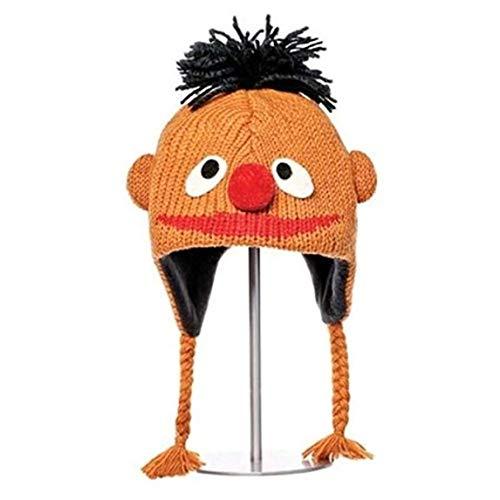 deLux Sesamstrasse Mütze Ernie (Kinder-Größe)
