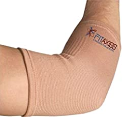 Fitaxiss Stretchable Elbow Support For Pain Relief (Size : Xtra Large)