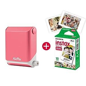 KiiPix-Fotodrucker-Smartphone-kompatibler-Sofort-Fotodrucker-mit-Fujifilm-Instax-Mini-Starterpaket-Polaroid-Bilder