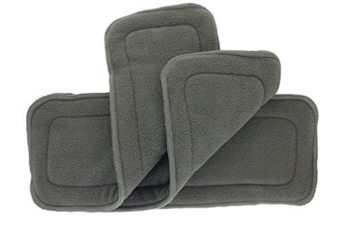 Alva baby 5 layer Bamboo charcoal insert (3 Piece)