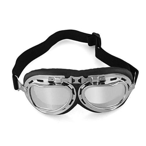 occhiali-vintage-moto-custom-chopper-harley-vespa-scooter-casco-aviatore-argento