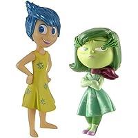 Inside Out L61914TR2JD Disney Pixar Joy and Disgust - Figura decorativa (2 unidades)