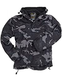 Surplus Windbreaker Black Camo Tamaño M