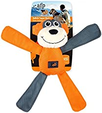 All For Paws Outdoor Dog - Ballistic Tugger Monkey Tug Plush,Squeak-Toy for Dogs