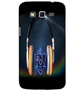 SAMSUNG GALAXY GRAND 2 HEADPHONE Back Cover by PRINTSWAG