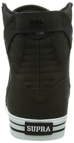 Supra Skytop, Sneakers Hautes Mixte adulte Noir (Black/White)