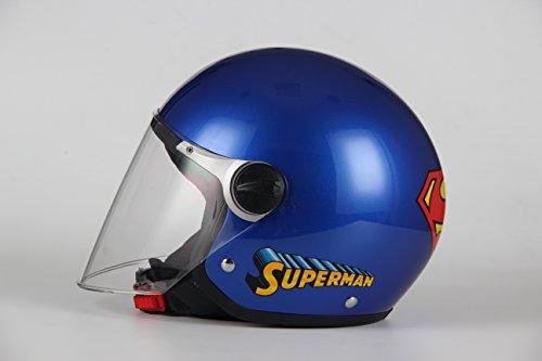 BHR-10619-Casco-713-SUPERMAN-bimbo-Blu-misura-YS-4950