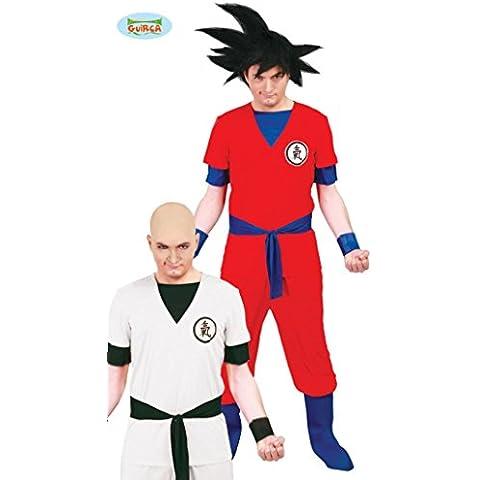 Guirca - Disfraz para adultos de guerrero Son Goku, talla M - L (80627)