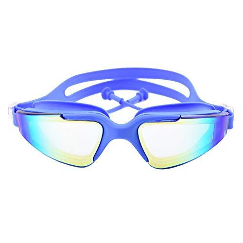 Schwimmbrille, Keine undichte Anti-Fog-UV-Schutzbrille für Männer, Frauen, Jugendkinder (über 6 Jahre) mit freiem Schutzetui, Case 2