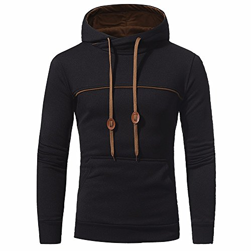Manadlian Männer Hoodies Pullover Mit Kapuze Herren Herbst Winter Männer Schlank Entworfen Oberteile Strickjacke Mantel Jacke Outwear