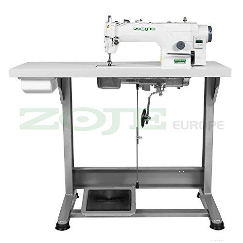 Industrie-nähmaschine (Industrie Nähmaschine ZOJE -für dicke Stoffe - KOMPLETT (aufgebaut, mit Tisch & Gestell) NEU!)
